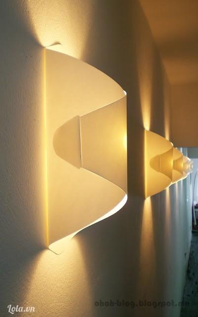 Sáng  tạo bóng đèn thắp sáng lượn sóng