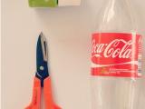 Làm hộp quà từ chai nhựa