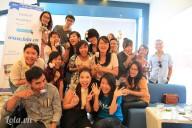 Hình ảnh offline lớp học handmade tháng 2 cùng Lola.vn
