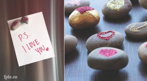 Biến những viên sỏi thành món quà Valentine độc đáo
