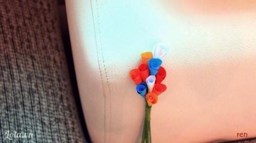 Làm hoa loa kèn bằng giấy