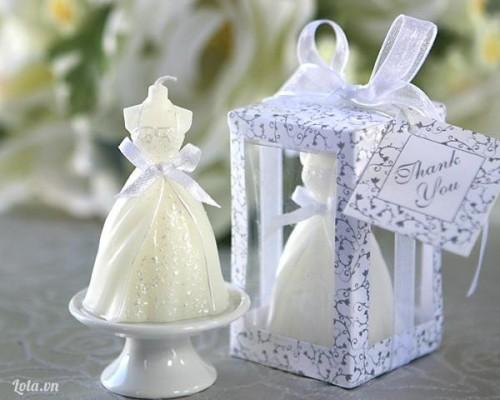 Nến trong trang trí tiệc cưới