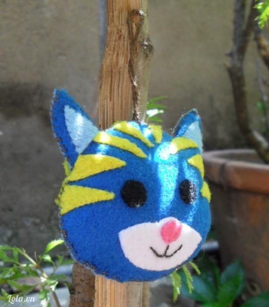 Móc khóa chú mèo Miu  Miu