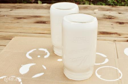 Phơi bình ngoài nắng để chờ màu khô  Cuối cùng bạn đã có một chiếc bình hoa màu mà bạn thích