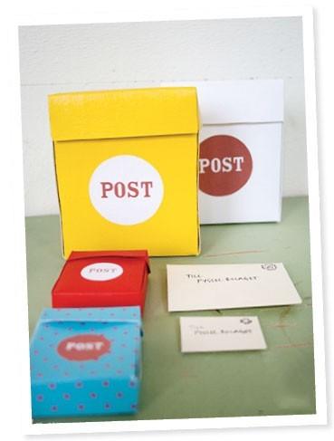 Làm hộp thư nhỏ xinh