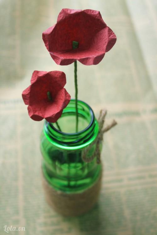 Làm hoa từ giấy