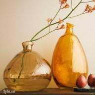 Trang trí nhà bằng vỏ chai vintage