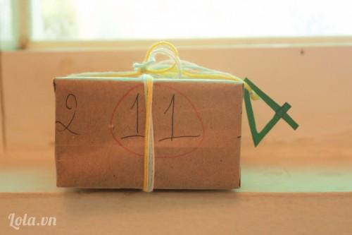 [Hướng dẫn] gói quà