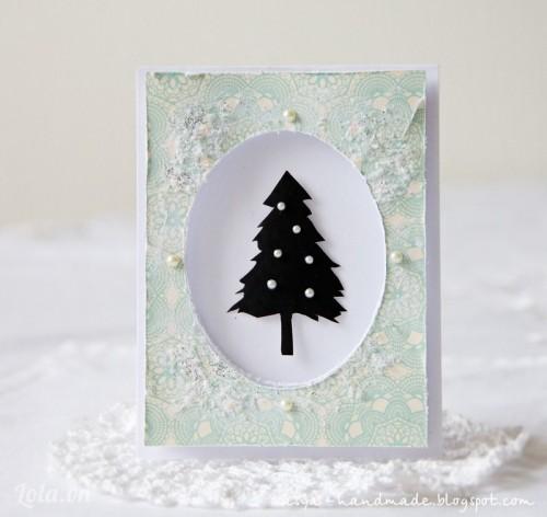Thiệp giáng sinh handmade