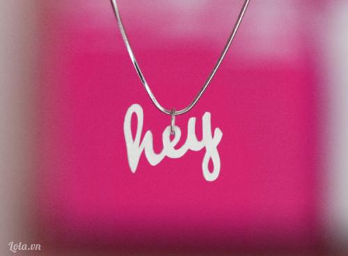 Làm dây chuyền theo tên chữ cái của bạn