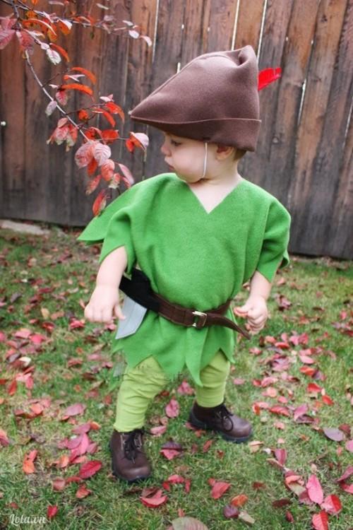 May đồ Peter Pan cho bé yêu