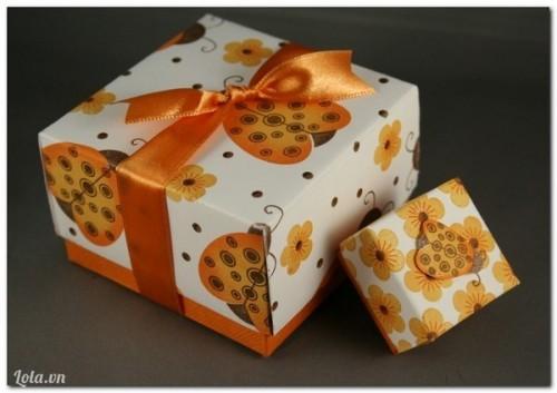 Tự làm hộp quà tặng người yêu thương