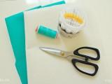 Làm bì thư bằng vải nỉ