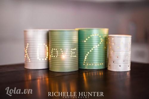 Tự thiết kế hộp lon phát sáng lãng mạn