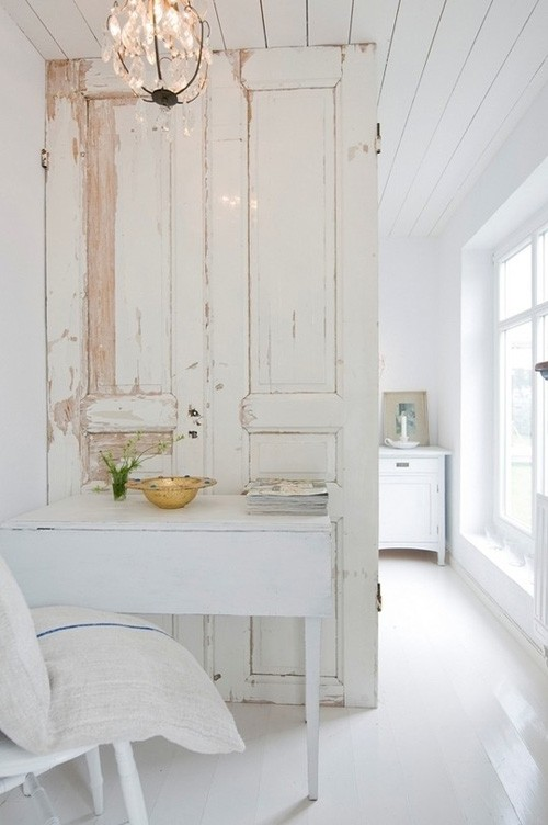 Trang trí nội thất với những cánh cửa cũ (Phần 4)