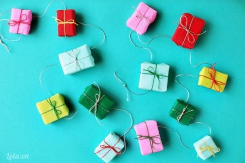 Làm hộp quà nhỏ từ hộp diêm