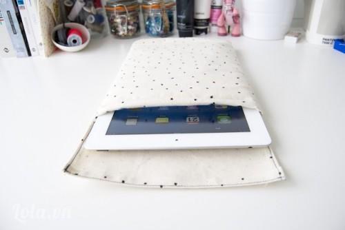 Làm túi vải đựng ipad