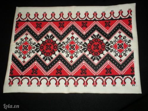 Vải thêu Cross Stitch (thêu chữ thập)