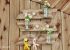 Làm vườn hoa di động trên tường cực xinh
